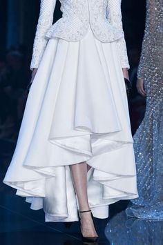 Details from Ralph & Russo Haute Couture Fall 2014. Paris Fashion Week.