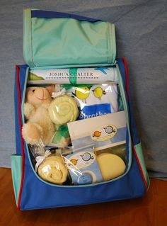 """big brother kit -- I love this idea for the new """"big siblings"""" in a family when a new baby comes!  I'm going to need 2 big brother kits and a big sister kit."""