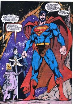Adventures of Superman #455- June 1989 Pencils Dan Jurgens. Beard!