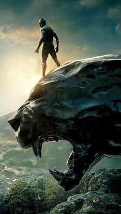 Black Panther is the best Marvel hero ever! Marvel Comics, Marvel Heroes, Marvel Characters, Marvel Avengers, Black Panther Art, Black Panther Marvel, I Love Cinema, Avengers Wallpaper, Stan Lee