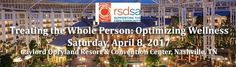 We had a fabulous Nashville Conference! Treating the Whole Person: Optimizing Wellness is happening on April 8 at the Gaylord Opryland Resort and Convention Center #CRPS #RSD Register now!