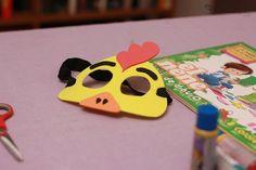 Como hacer Mascara Infantil