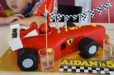 Cake Ferrari Cake, Birthday Party Themes, Cakes, Toys, F1, Parties, Deco, Activity Toys, Fiestas