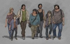 ArtStation - People... : The Last of Us, Hyoung Nam