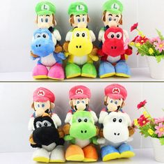 Super Mario Bros Plush 820cm Puppet   Buy Wholesale On Line Direct from China