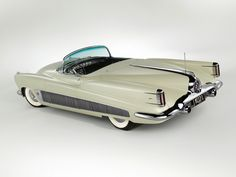 Buick XP-300 (concept) 1951. Just a couple of years after the tailfin design concept started trickling down into GM's cars from the 1948 Cadillac.