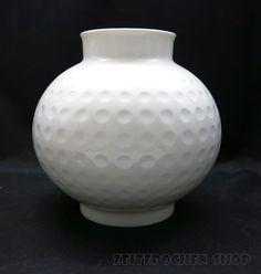 Arzberg Vase Golfball | Heinrich Löffelhardt | Mid Century Design | 60er Jahre