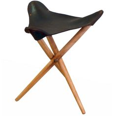 danish folding stool: lina bobardi would have had this in her home