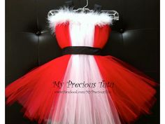 Christmas Tutu Dress from our great customer - My Precious Tutu.