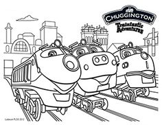 23 Best Chuggington Coloring Pages Images Coloring Books Coloring