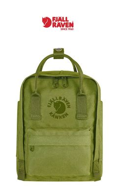 Fjallraven - Re Kanken Mini Recyclable Backpack | Spring Green | Click for Price and More | Backpack Ideas | Backpack Fashion | Backpack Styles | Travel Fashion | Travel Bag | Scandinavian Style | Bag Styles | Everyday Bag | Fashionable Bag | Everyday Backpack | Best Day Pack | #Fjallraven #ReKanken #Recyclable #Backpack #Best #Everyday #Mini #Bag #Scandinavian #Style #Summer #Fashion #Chic #Day #Pack #New #Gift #Ideas #Mens #Womens