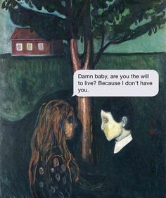 """Question Your Own Existence and Trigger Your Next Existential Crisis With 'Texts From Your Existentialist' - Funny memes that """"GET IT"""" and want you to too. Get the latest funniest memes and keep up what is going on in the meme-o-sphere. Grumpy Cats, Message Text, Text Messages, Good Morning Posters, Medieval Memes, Minions, Classical Art Memes, Dark Humour Memes, Humor"""
