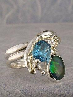 Grzegorz Pyra Piro Biżuteria Autorska Unikatowa Pierścień Nr. 6849