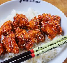 OMG: a kínai gyorsbüfék szezámos csirkéje Kfc, Tandoori Chicken, Chicken Wings, Main Dishes, Bacon, Recipies, Food And Drink, Appetizers, Cooking
