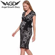 Find More Dresses Information about Spring Summer New Pregnant Woman Maternity Dress Clothing Clothes Temperament Full Lace Rotator Cuff Big Yards Maternity Dress,High Quality dress model for girl,China dress coffee Suppliers, Cheap dress hip from Angel Growth Diary on Aliexpress.com