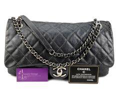 CHANEL Easy Caviar Zip Flap Bag Good Condition Ref-GRSS-1 🏠Bangsar showroom + 6 010 220 3384 + 6 03 2095 6266