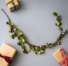 Velvet Mistletoe Garland | Christmas Decor | Magnolia Christmas | Magnolia Market | Chip & Joanna Gaines | Waco, TX |