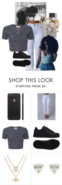 """Untitled #299"" by muvaaliyah ❤ liked on Polyvore featuring Alice + Olivia, adidas, Chicnova Fashion and Rolex"