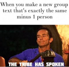 When someone gets dropped out of the group text and you know shit is about to get real: | 18 Things Anyone Who's Been Stuck In A Group Text Will Understand