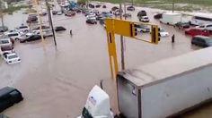 Cae tromba en Ciudad Juárez; decenas de vehículos bajo el agua | El Puntero