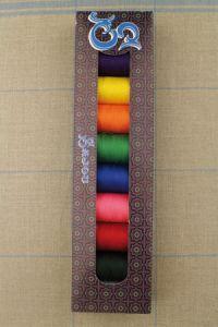 Boîte sélection Sajou - huit fusettes 500 m  fil polyvalent - Ass. 3