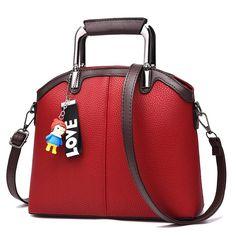 e8852e8976 SUONAYI 2017 Women Messenger Bags Fashion Mini Bag With cartoon Toy Shell  Shape Bag Women Shoulder Bags handbag