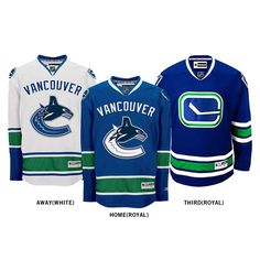 Customize Vancouver Canucks jersey cheap nhl hockley jersey Home/Away/Alternate Embroidery Logo Sew on Any Name & NO. Hot Hockey Players, Nhl Hockey Jerseys, Hockey Logos, Ice Hockey Teams, Sports Jerseys, Vancouver Canucks, Hockey Sweater, Canada Hockey, Ice Hockey Jersey