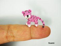 Micro Baby Tiger  Mini Tiny Dollhouse Miniature Animals  by suami, $78.00