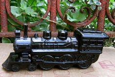 Vintage Avon Perfume Bottle Train by Doojies on Etsy, $7.00