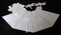 Making a Stained Glass Panel Lampshade Pattern