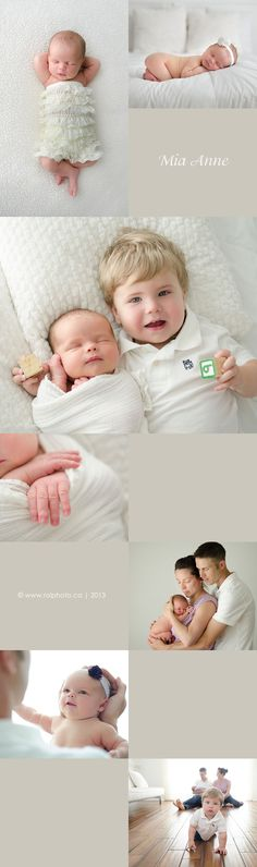 Beautiful newborn and sibling photography