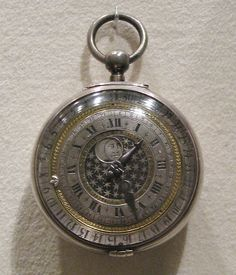 1650 English Calendar watch at the Metropolitan Museum of Art, New York.