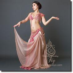 Hallah NudePink(20hl02_01_nupk)   ★オリエンタル衣装【Hallah Moustafa】     ベリーダンス衣装・通販 Fig