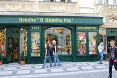 Favorite toy shop in Prague