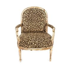 French Style Occasional Arm Chair