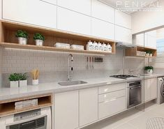 An amazing read on even more concerning Outdated Kitchen Renovation Kitchen Pantry Design, Kitchen Cupboards, Home Decor Kitchen, Interior Design Kitchen, New Kitchen, Home Kitchens, Modern Kitchen Interiors, Design Moderne, Cuisines Design
