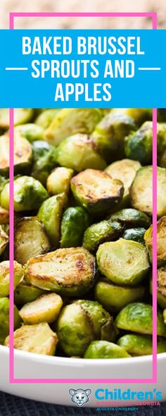 Help your family start off the new year on the right foot!   Ingredients: • 1/2 cup fresh apples, chopped  • 8 ounces Brussels sprouts, trimmed and quartered  • 2 tablespoons apple cider vinegar  • 2 teaspoons extra-virgin olive oil  • 1 teaspoon fresh thyme, minced (can be substituted with 1/2 teaspoon dried thyme)  • 1/4 teaspoon salt  • 1/8 teaspoon black pepper
