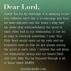 Prayer: Acknowledging The Good unveiledwife.com