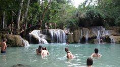 Kuang Si Falls, Luang Prabang, Laos | 10 natural swimming pools
