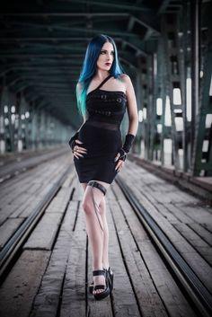 Model, make-up, edit: Daedra Dress: DarkinCloset Photographer: Unit Foto Welcome to Gothic and Amazing  www.gothicandamazing.com