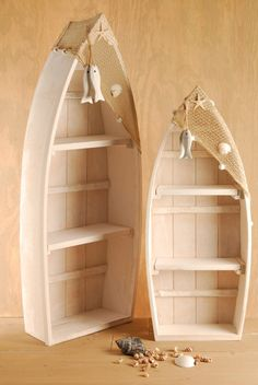 Boat Shaped Bathroom Shelves