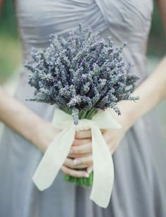 lavender. or something sweet and simple like this