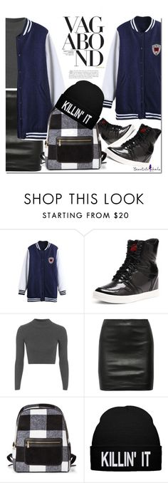 """""""Beautiful halo"""" by mycherryblossom ❤ liked on Polyvore featuring Topshop, The Row and Vagabond"""