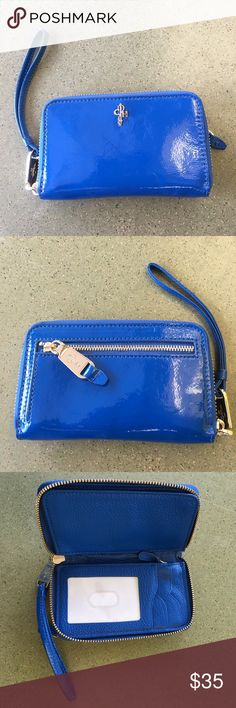 💙COLE HAAN WALLET💙 💙Beautiful blue wallet by Cole HAAN💙 Cole Haan Bags Wallets