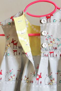 geranium dresses by imaginegnats, via Flickr