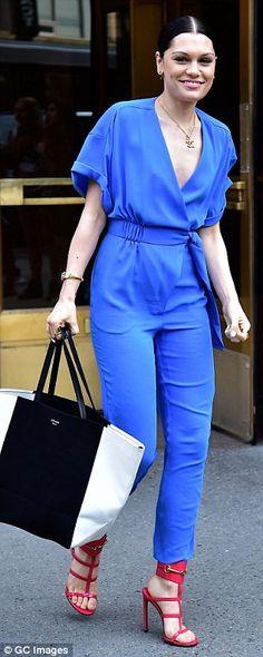 Jessie J, love this jumpsuit!