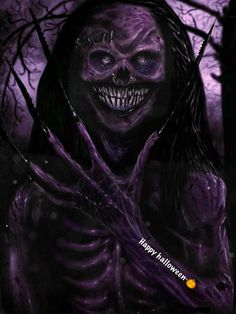I will get you in halloween 🎃 Skull Wallpaper, Galaxy Wallpaper, Halloween Pictures, Halloween Art, Creepy Art, Scary, Skull Artwork, Aesthetic Videos, Badass Quotes