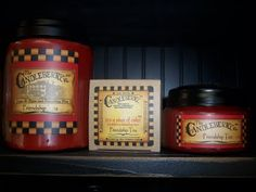 Candleberry candles...particularly Hot Maple Toddy.