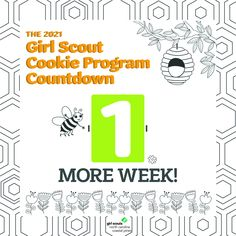 We can practically taste the Thin Mints! The Girl Scout Cookie Program begins in ONE WEEK, and we can't wait to see what our Girl Scouts accomplish this year!