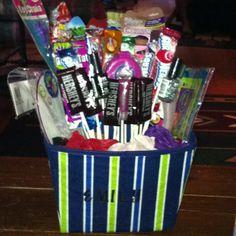 Birthday spa basket